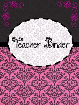 Teacher Organization Binder Set