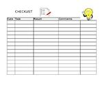 Teacher Organization Checklist
