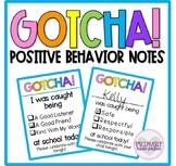 Positive Behavior Notes | Classroom Management Tool