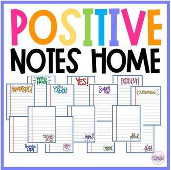 Positive Notes Home | Parent Communication