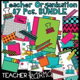 Teacher Organization & Planning Clipart BUNDLE