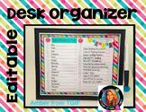 Teacher Organization Printable FREEBIE