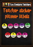 Teacher Organization Stickers