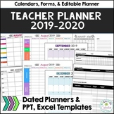 Teacher Organizational Binder, 2018-19