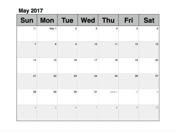 Teacher Organizational Notebook for the Classroom (calendar, templates, forms)