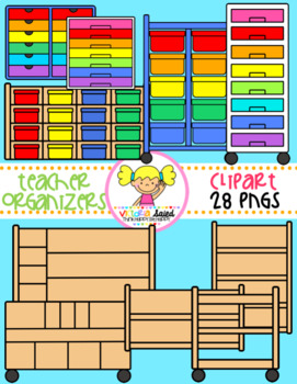 Teacher Organizers Clipart