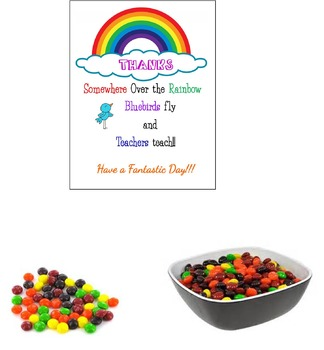 Teacher PBIT  Rainbow Day Sign