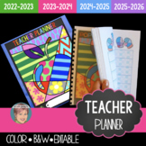 2021 Teacher Binder | Teacher Planner (2019- 2023 included)