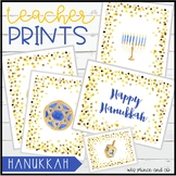 Teacher PRINTS December-Hanukkah {teacher stationary and p