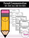 FREE: Parent Communication Sheets