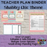 Teacher Plan Binder- Editable Resources for the Ultimate Organization *BTS*