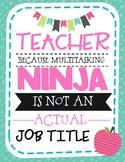 2018-2019 Teacher Plan Book