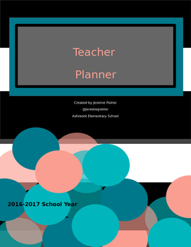 Teacher Plan Book 2016/2017