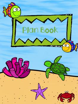 Teacher Plan Book, Lesson Book, Gradebook