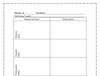 Teacher Plan Page