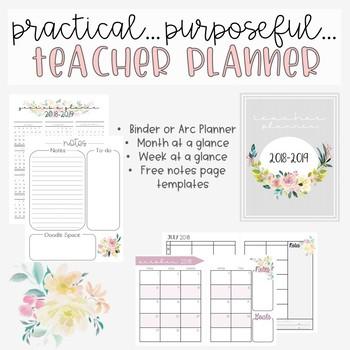 Teacher Planer 2018-2019