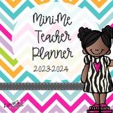 Mini Me Teacher Planner 2018-2019 {EDITABLE}