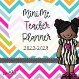 Mini Me Teacher Planner 2020-2021 {EDITABLE}