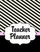 Teacher Planner 2016 - 2017 (Paris Theme) pink and black