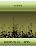 Teacher Planner 2014-15 Editable Printable