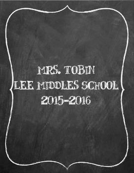 Teacher Planner 2015-2016 (Editable, PDF and Publisher)