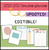 Teacher Planner 2016-2017 {EDITABLE!} Forms, organization,