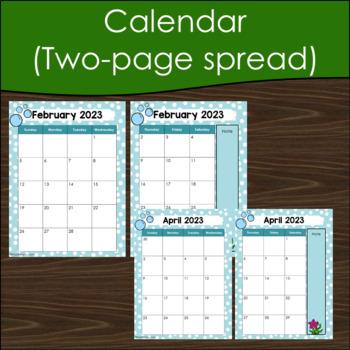 Teacher Planner 2017-2018 Editable -Teacher Binder 2017-2018 Mermaid