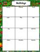 Teacher Planner 2017-2018 Garden Theme