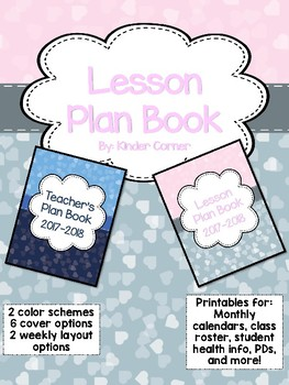 Teacher Planner 2017-2018 – Heart Theme
