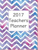 Teacher Planner 2017