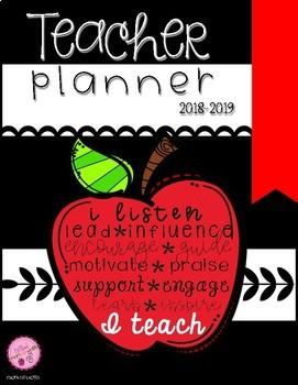 Teacher Planner 2018-2019 (2per. am/2per. pm)