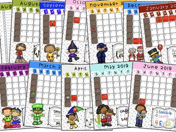 Teacher Planner 2018-19 (3per. am/2per. pm)