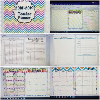 Teacher Planner 2018-2019 Humble ISD - Lesson Plan Grid Format