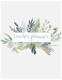 Teacher Planner 2018-2019 (Lesson plans, calendars, forms, and more!)