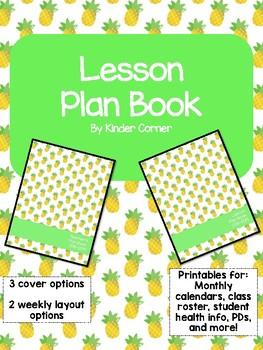 Teacher Planner 2018-2019 – Pineapple Theme