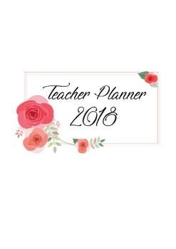 Teacher Planner 2018- High School
