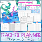 Teacher Planner 2019-2020 - Mermaid Tails