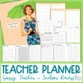Teacher Planner 2019-2020 - Sassy Teacher - Indoor Recess