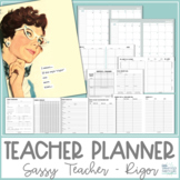 Teacher Planner 2019-2020 - Sassy Teacher - Rigor