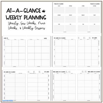 Teacher Planner 2019-2020 - Sunflowers