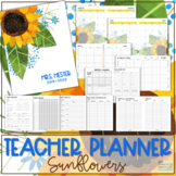 Teacher Planner 2019-2020 - Sunflowers