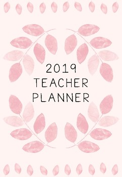 Teacher Planner 2019