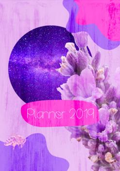 Teacher Planner 2019 Lavender Cover