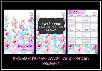 Teacher Planner 2019 Version 1