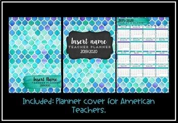 Teacher Planner 2019 Version 2