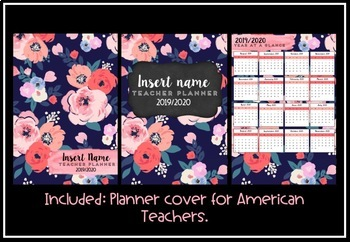 Teacher Planner 2019 Version 3