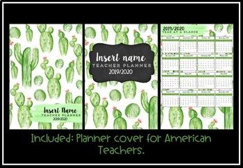 Teacher Planner 2019 Version 5