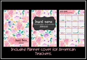 Teacher Planner 2019 Version 6