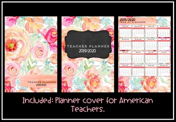 Teacher Planner 2019 Version 7