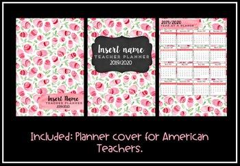 Teacher Planner 2019 Version 9